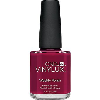 CND vinylux Contradictions Weekly Nail Polish Colour Collection - Rouge Rite (197) 15ml