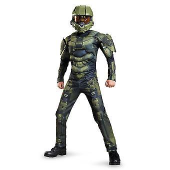 Master Chief Halo Classic Muscle vidéo jeux Dress Up Costume garçons sous licence