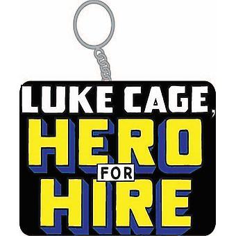 Key Chain - Marvel - Luke Cage Hero For Hire Licensed kc-mc-lk