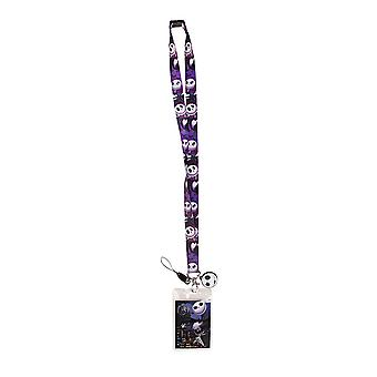 Lanyard Disney Nightmare Before Christmas Jack w/Soft Touch 22611