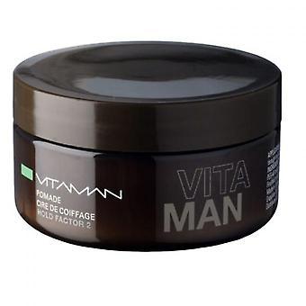 Mäns hår vax-lysande utseende-citron parfym