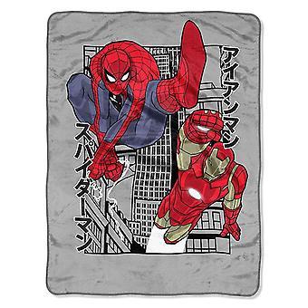 Avengers Spider-Man ja Iron Man Power City huopa