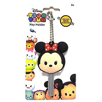 Key Cap - Disney - Soft Touch PVC Holder Tsum Tsum Minnie 85448