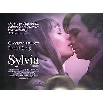 Sylvia alkuperäinen elokuva teatteri juliste