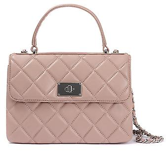 Quilted leather handbag - xinsu