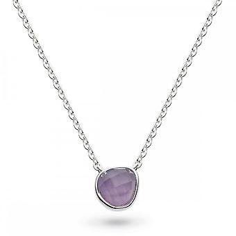 Kit Heath Coast Pebble Amethyst Mini 17 Necklace 9184AM027