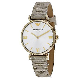 Armani Women-apos;s Robe Silver Dial Watch - AR11127