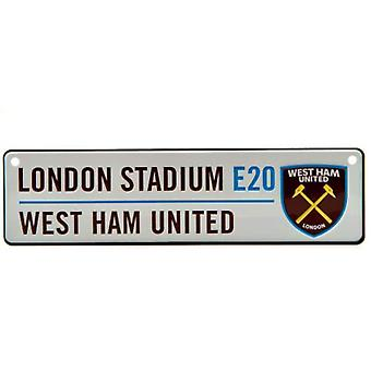 West Ham 3D Window Hanging Sign