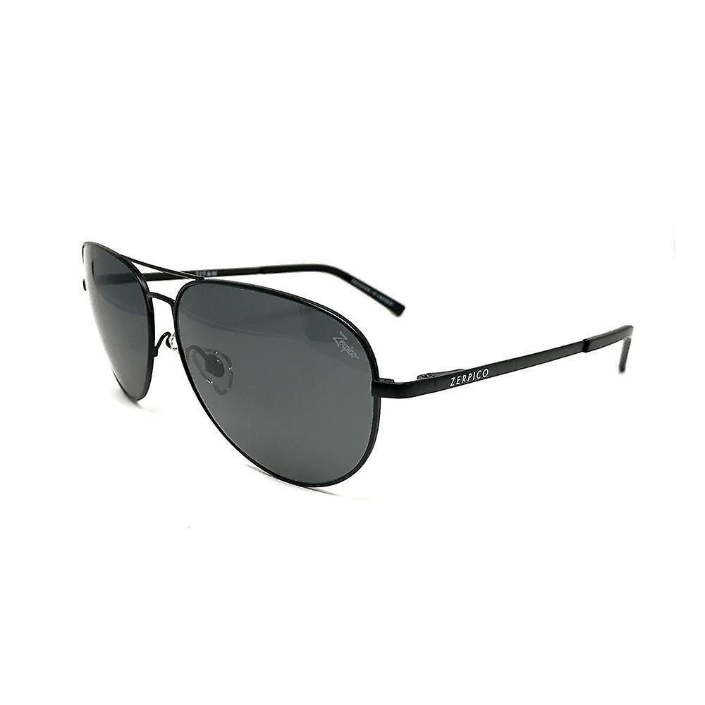 Titanium Aviator Sunglasses - TITAN - Black