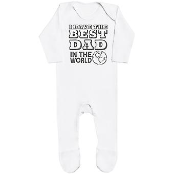 I Have The Best Dad In The World Baby Romper