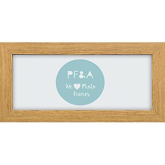 Modern Oak Wood Photo Frame Contemporary Picture Poster Wide 721 Wall Mounted UK Style