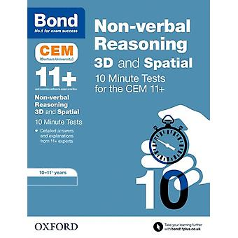 Bond 11 CEM 3D NonVerbal Reasoning 10 Minute Tests