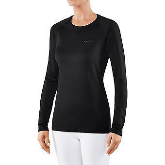 Falke Long Sleeved T-Shirt - Black
