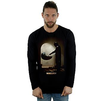 Star Wars Men's The Mandalorian Find The Child Long Sleeved T-Shirt
