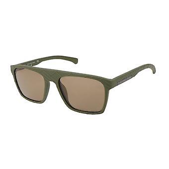 Calvin klein men's sunglasses, green 798