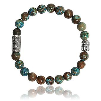 Lauren Steven Design ML066 Bracelet - Natural Stone Bracelet Stone of Phoenix Men