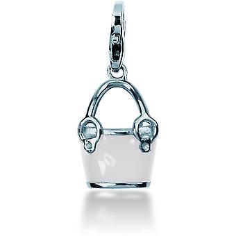 Charm stone Lawson JC99A118 - Charm pendant bucket white woman