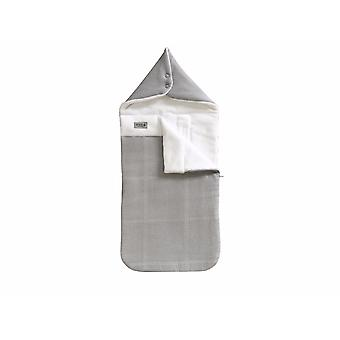 Bamboom Iglo Mini Voetenzak Stone Grey