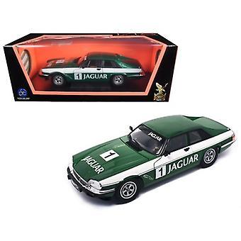 1975 Jaguar Xjs Coupe Racing Green #1 1/18 Diecast Model Car By Road Signature