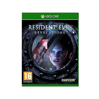 -Резидент зло откровения Xbox 1