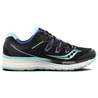 Saucony Triumph Iso 4 S10413-4 Women's Running Shoes Black Sneaker Sports Shoes