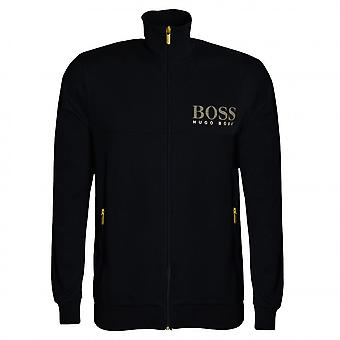 Hugo Boss Leisure Wear Hugo Boss Men's Black Zip Up Sweat Top