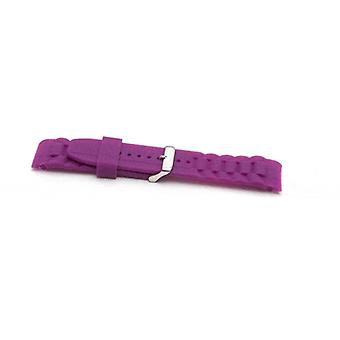 Authentic ice watch strap purple with stainless steel buckle sizes 17mm, 20mm and 22mm