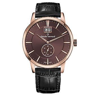 Claude Bernard - Watch - Men - Classic Gents - 64005 37R BRIR3