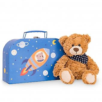 Hermann Teddy Hug Teddybär Ferdi mit Koffer