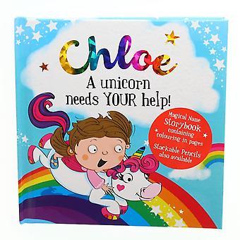 History & Heraldry Magical Name Storybook - Chloe