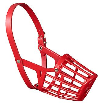 Arppe Muzzle Size 10 Red Plastic Shopping (Dogs , Collars, Leads and Harnesses , Muzzles)