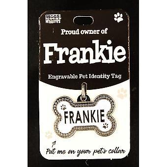 Wags & Whiskers Lemmikkieläinten tunniste - Frankie