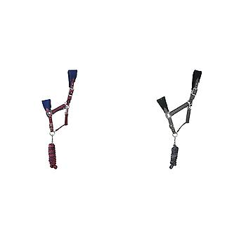 Hy Event Pro Series Head Collar and Lead Rope