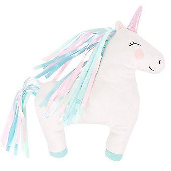 Unicorn Decorative Cushion Rainbow Colours Childrens Unicorn Lover Gift