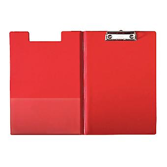 Esselte 56043 A4 Fold Over Clipboard Red