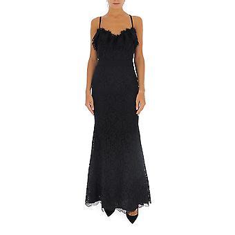 Amen Couture Acw19515999 Frauen's schwarze Viskose Kleid