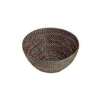 Bastian Brødkurv rund lys/mørkebrun - 20,5-21,5 cm
