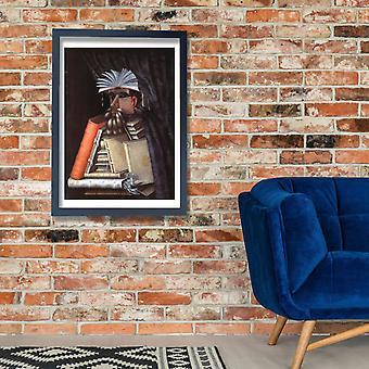 Giuseppe Arcimboldo - The Librarian Poster Print Giclee