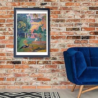 Paul Gauguin - Matamoe morte Poster Stampa giclée