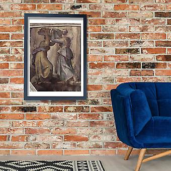 Michelangelo - Capela Sistina seção 236 Poster impressão giclée