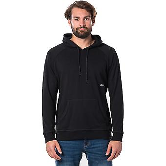 Rip Curl Font Pullover Hoody in nero
