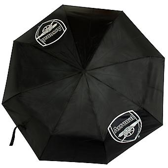 Arsenal FC Official Football Gift Telescopic Compact Umbrella