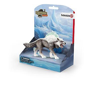 Schleich Eldrador snø ulv leketøy figur (42452)