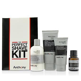 Logistics for men the perfect shave kit: cleanser + pre shave oil + shave cream + after shave cream 4pcs