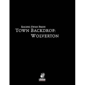 Town Backdrop Wolverton by Bennett & John