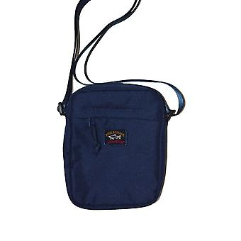 Paul & Shark Paul And Shark Patch Logo Small Item Bag Navy