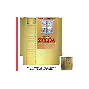 Zelda Nes Cartridge Flask
