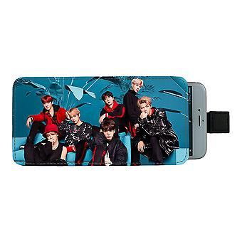 BTS Bangtan Boys 2018 Pull-up Mobile Bag