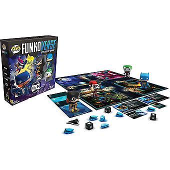 Funkoverse DC 100 4-pack Strategy Board Game