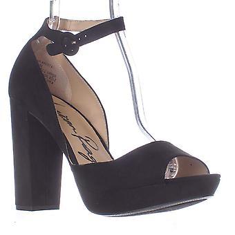 American Rag Womens Areetafr Fabric Peep Toe Formal Ankle Strap Sandals